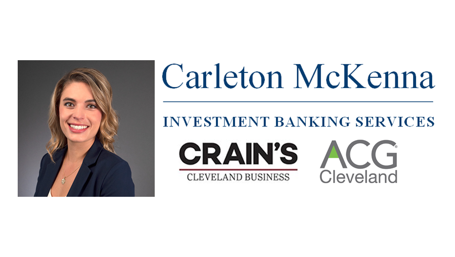 "Brooke Hradisky Discusses ""Taking Chips off the Table"" - Crain's Cleveland & ACG Cleveland"